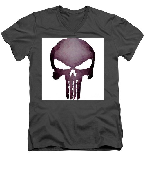 Frank Skull Men's V-Neck T-Shirt