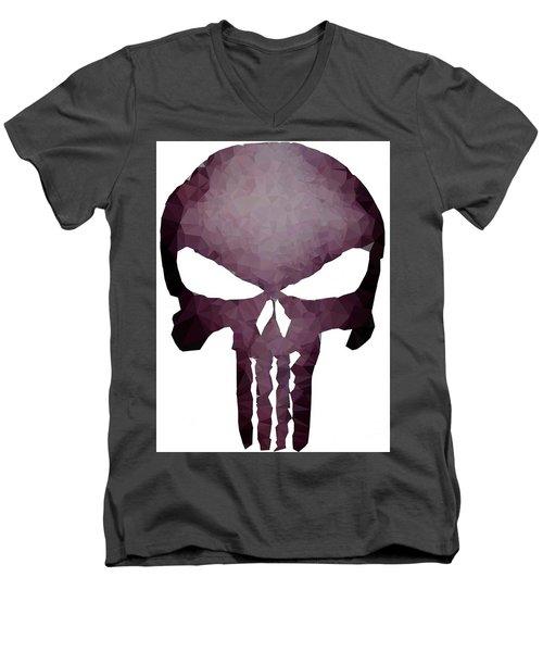 Frank Skull Men's V-Neck T-Shirt