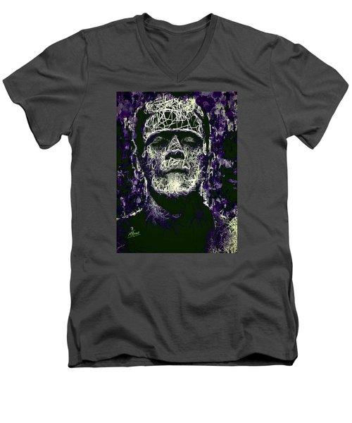 Frankenstein Men's V-Neck T-Shirt
