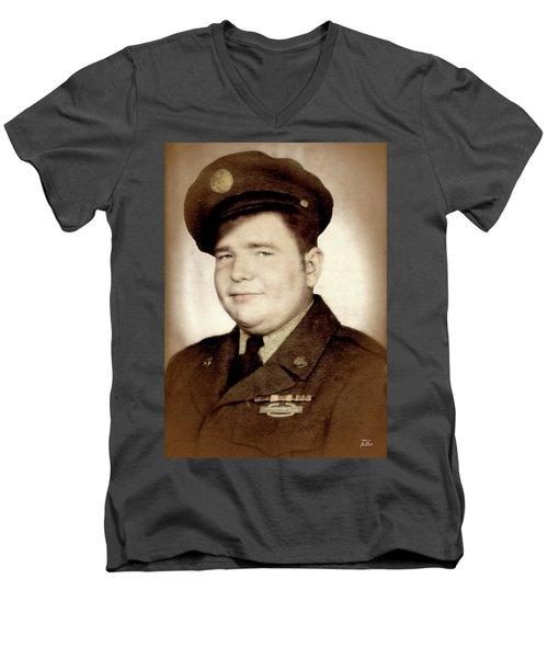 Frankie Shepard Avon Hero Men's V-Neck T-Shirt