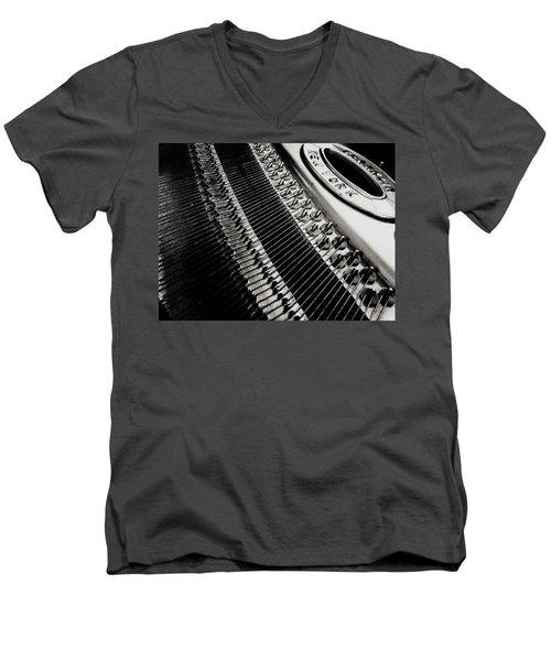 Franklin Piano Men's V-Neck T-Shirt