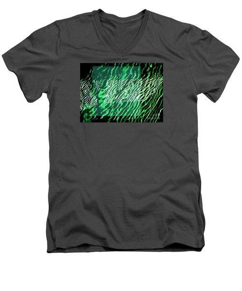 Frazzled Men's V-Neck T-Shirt by Betsy Zimmerli