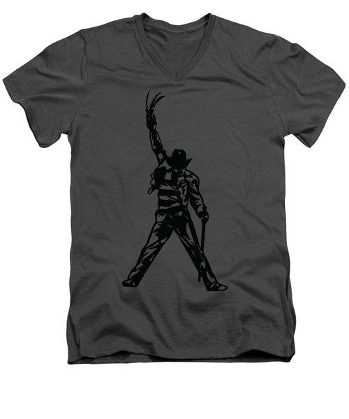 Freddy Krueger Men's V-Neck T-Shirt