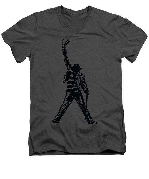 Freddy Krueger Men's V-Neck T-Shirt
