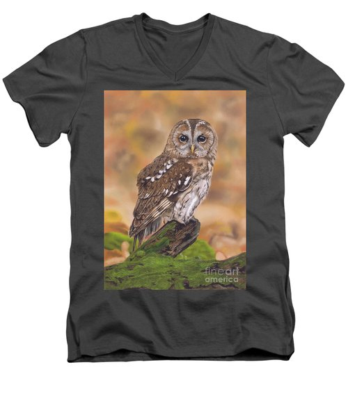 Free As A Bird Men's V-Neck T-Shirt