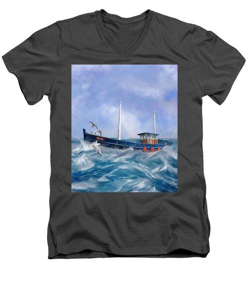 Free Spirit Men's V-Neck T-Shirt