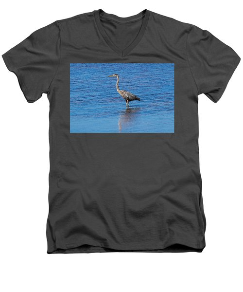 Men's V-Neck T-Shirt featuring the photograph Free Spirit by Michiale Schneider