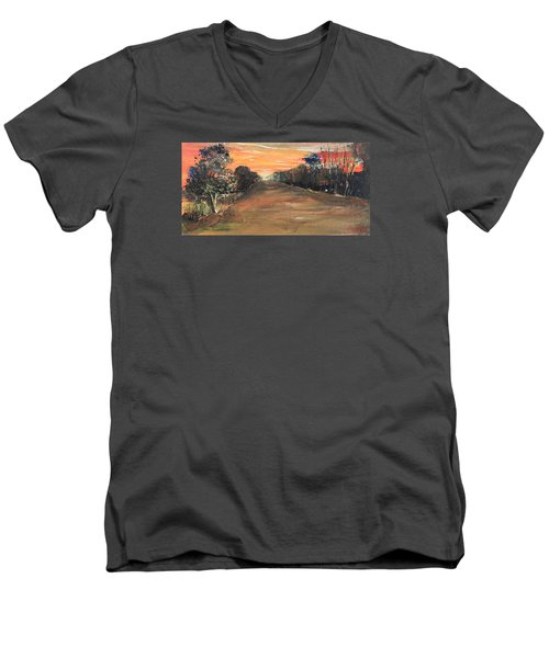 Freedom Road Men's V-Neck T-Shirt