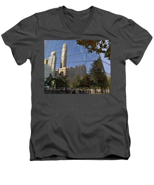Ground Zero Reflection Men's V-Neck T-Shirt