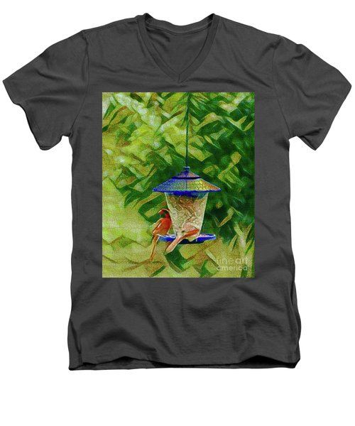 Freeloaders Men's V-Neck T-Shirt