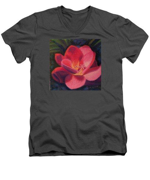 Freesia Dawn Men's V-Neck T-Shirt