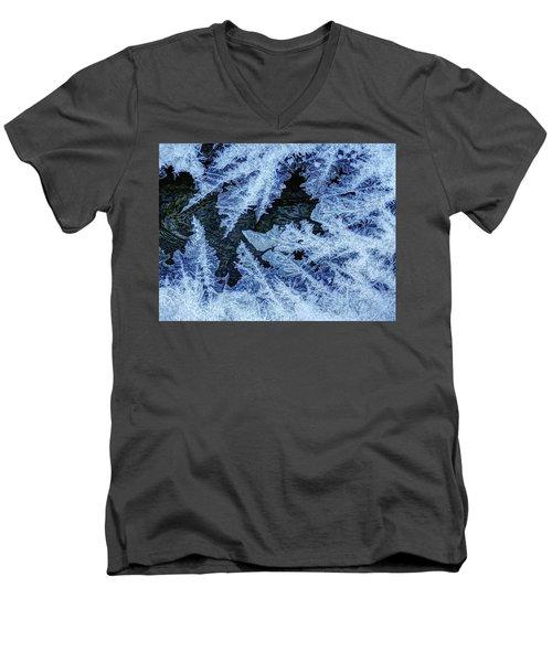 Freezing Over Men's V-Neck T-Shirt