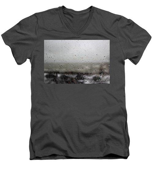 Freezing Rain Men's V-Neck T-Shirt