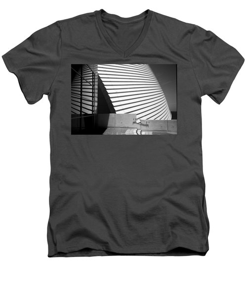 Fremantle Maritime Museum Men's V-Neck T-Shirt by Serene Maisey