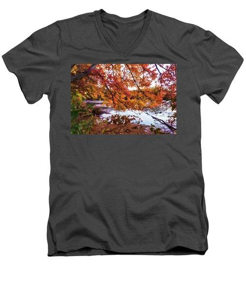 French Creek 15-107 Men's V-Neck T-Shirt