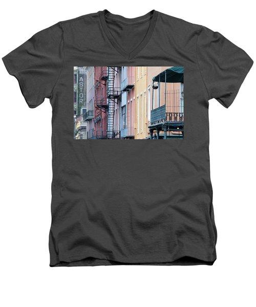 French Quarter Colors Men's V-Neck T-Shirt