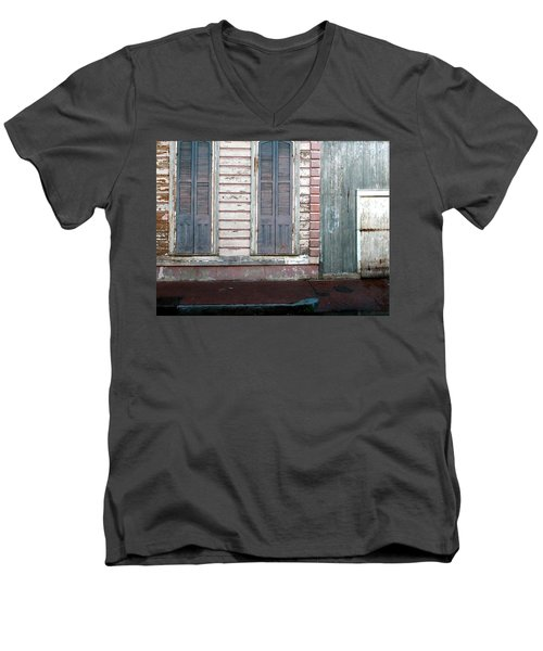 French Quarter Men's V-Neck T-Shirt