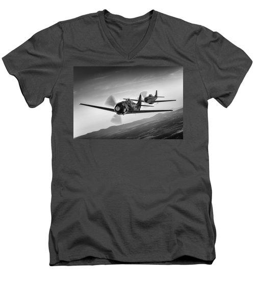 Frenemies Iv Men's V-Neck T-Shirt