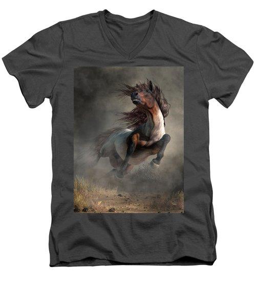 Frenzy Men's V-Neck T-Shirt