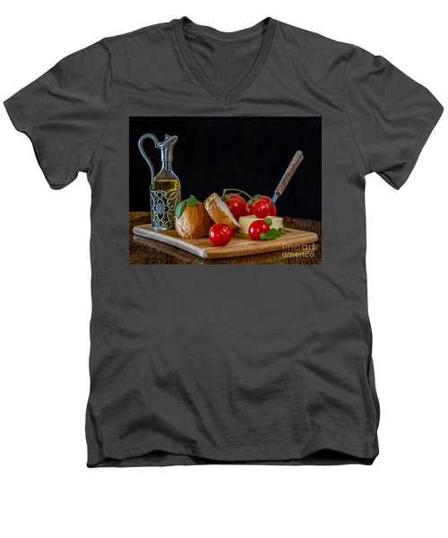 Fresh Appetizers Men's V-Neck T-Shirt
