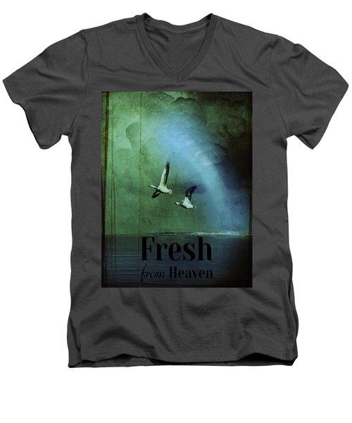 Fresh From Heaven Men's V-Neck T-Shirt