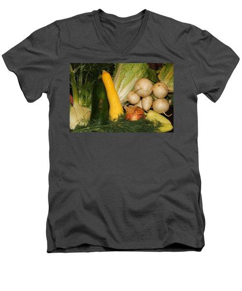Fresh Garden Produce Men's V-Neck T-Shirt