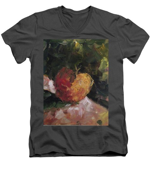 Fresh Men's V-Neck T-Shirt by Roxy Rich