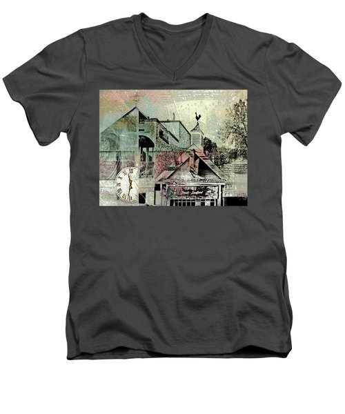 Men's V-Neck T-Shirt featuring the photograph Fresh Seafood by Susan Stone