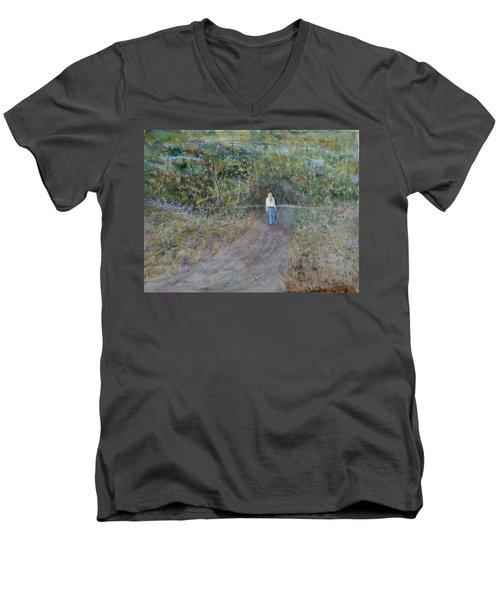 Fresh View Men's V-Neck T-Shirt