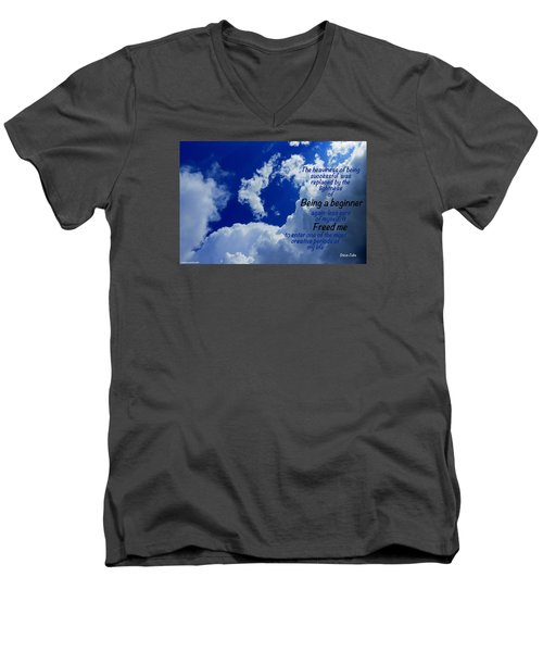 Men's V-Neck T-Shirt featuring the photograph Freshness by David Norman