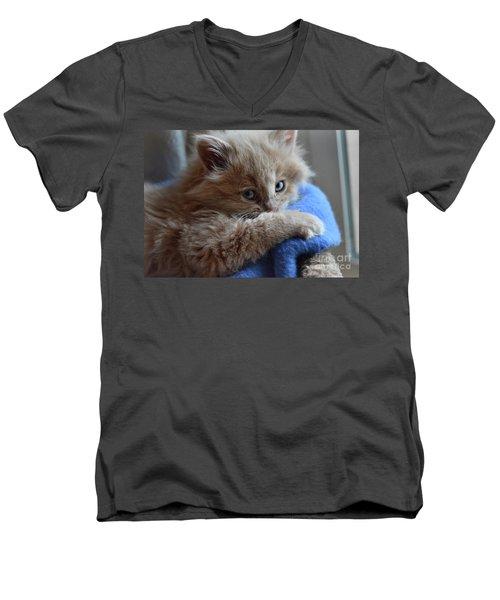 Freya #1 Men's V-Neck T-Shirt