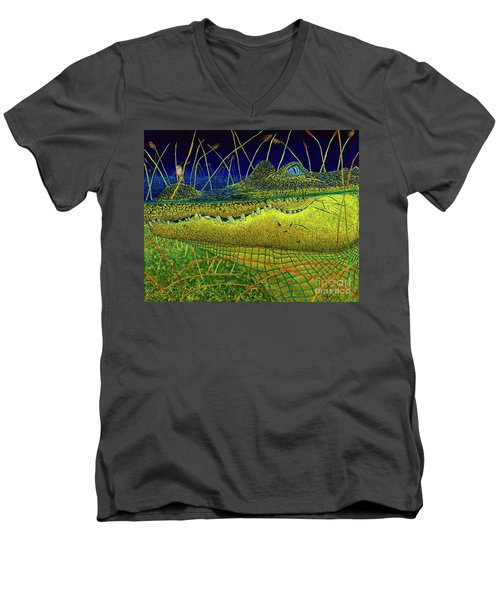 Swamp Gathering Men's V-Neck T-Shirt
