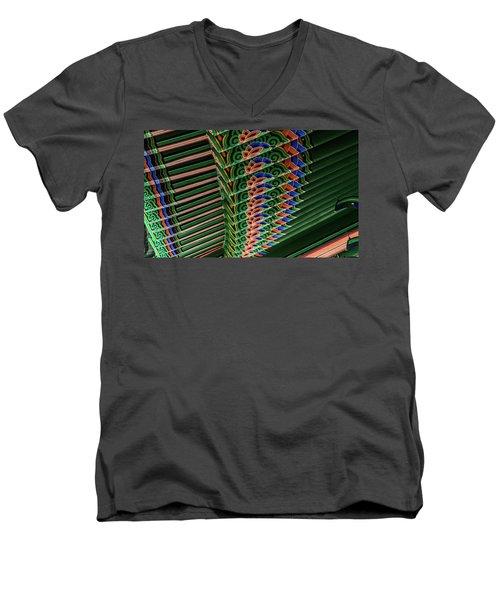 Friendship Bell Men's V-Neck T-Shirt