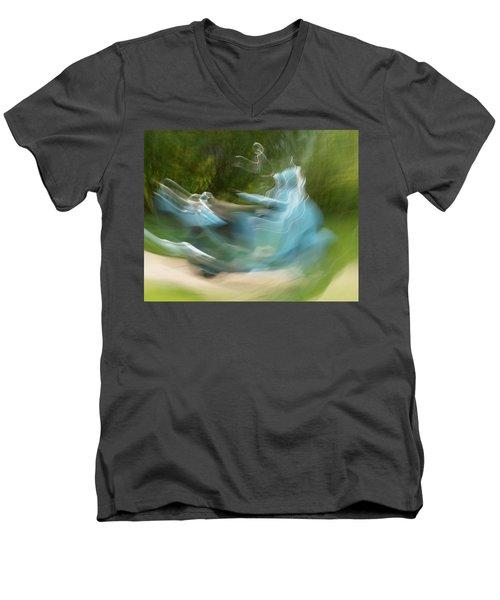 Oh Be Joyful Men's V-Neck T-Shirt