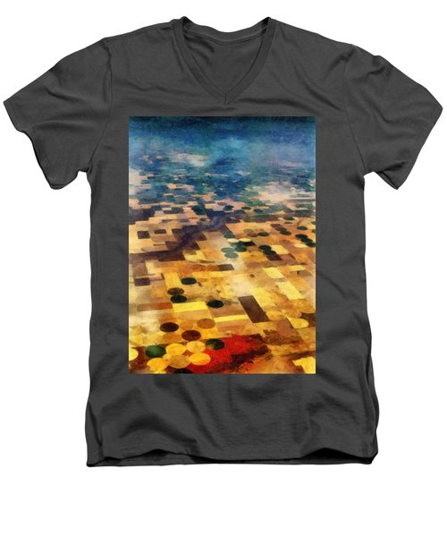 From Above Men's V-Neck T-Shirt