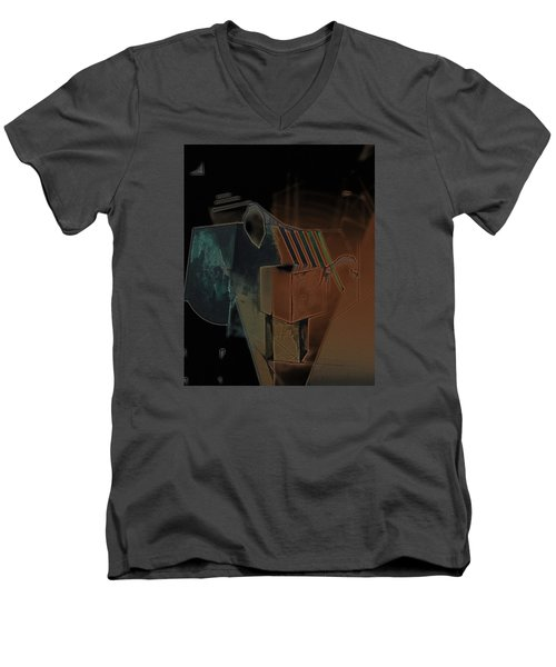 From The Begining Men's V-Neck T-Shirt by Roro Rop