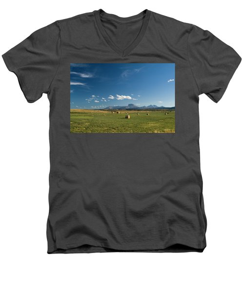 From The Prairie To The Rockies Men's V-Neck T-Shirt