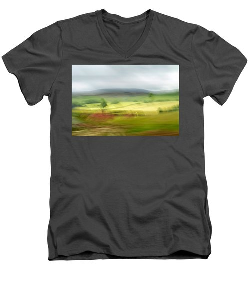 heading north of Yorkshire to Lake District - UK 1 Men's V-Neck T-Shirt