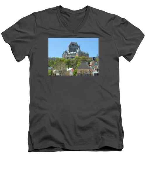 Frontenac Men's V-Neck T-Shirt