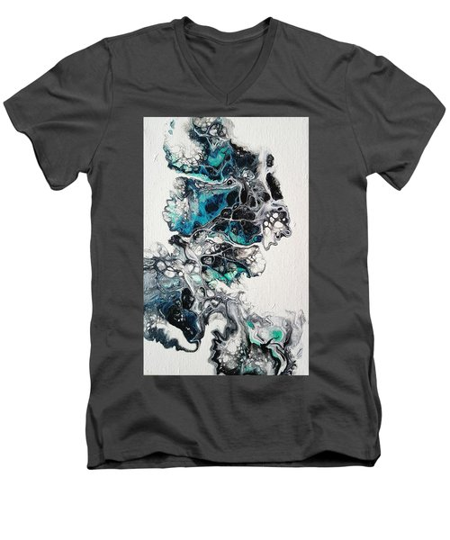 Frost And Ice Men's V-Neck T-Shirt