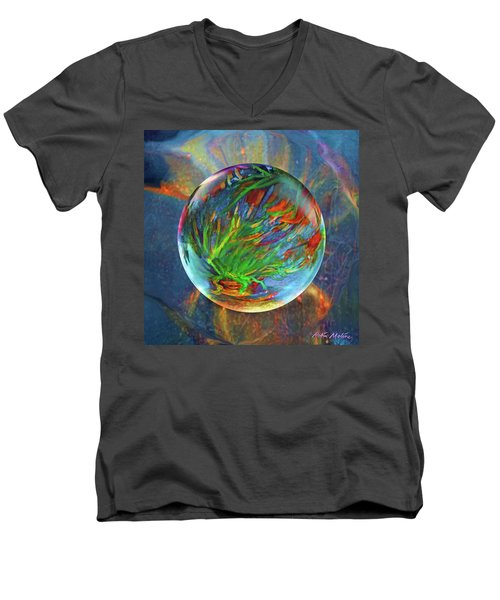 Frosted Still Men's V-Neck T-Shirt