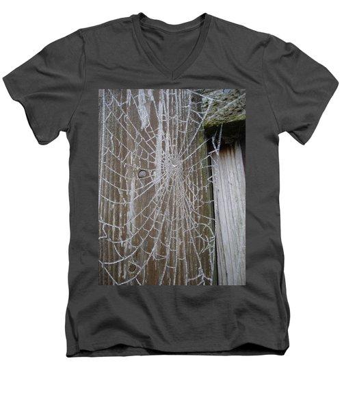 Frosty Web Men's V-Neck T-Shirt