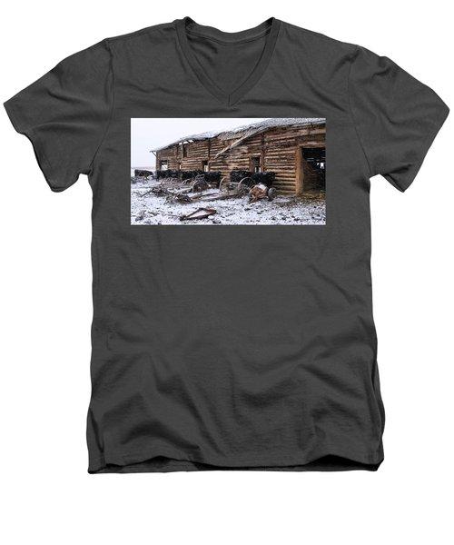 Frozen Beef Men's V-Neck T-Shirt