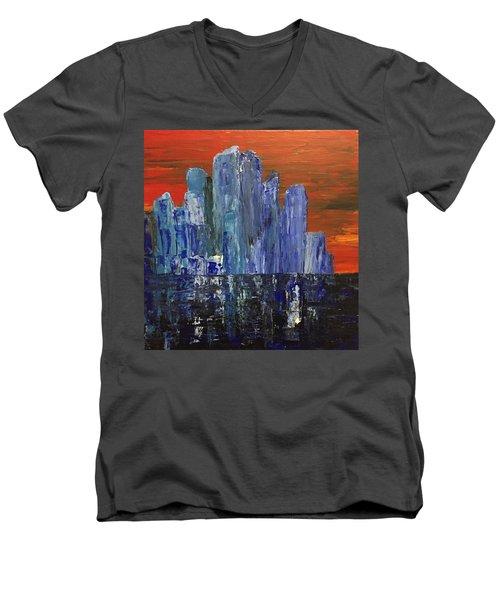 Frozen City Men's V-Neck T-Shirt