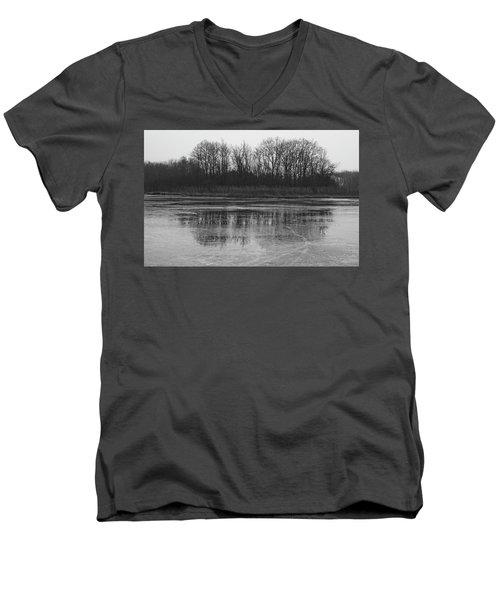 Frozen Forest Men's V-Neck T-Shirt