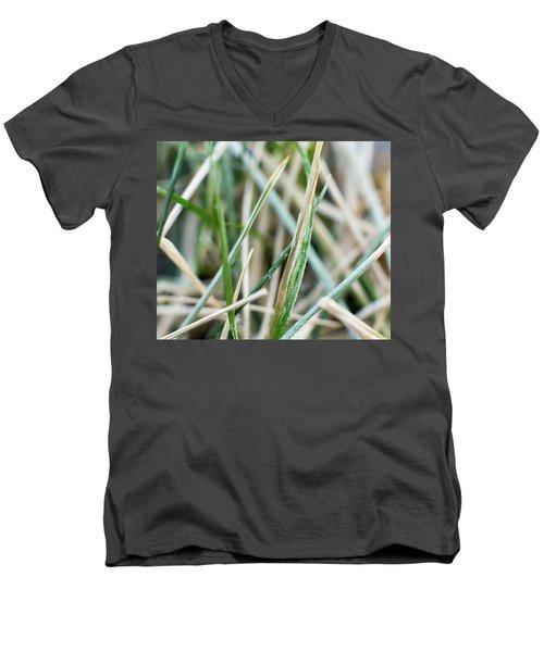 Frozen Grass Men's V-Neck T-Shirt