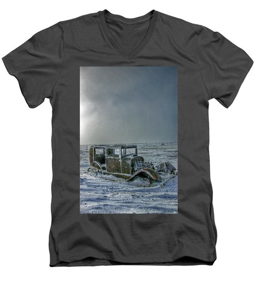 Frozen In Time Men's V-Neck T-Shirt