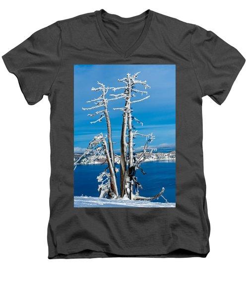 Frozen In Time Men's V-Neck T-Shirt