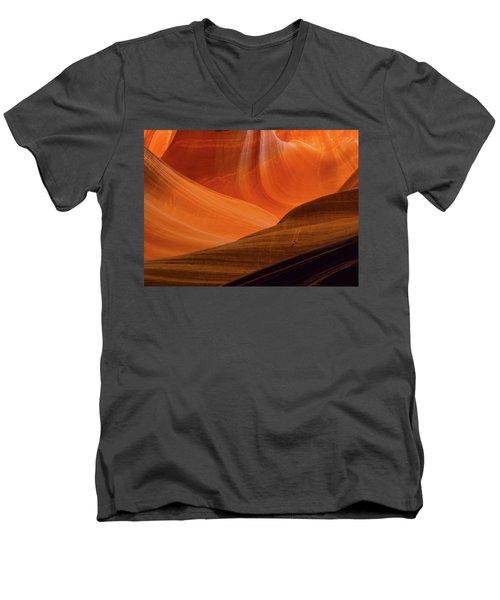 Frozen Time Men's V-Neck T-Shirt