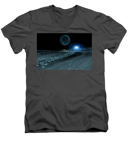 Frozen World Men's V-Neck T-Shirt